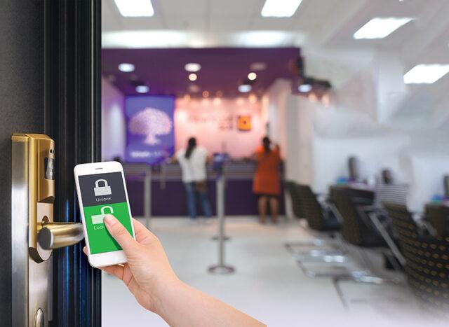 Mobilna kontrola dostępu w hotelu